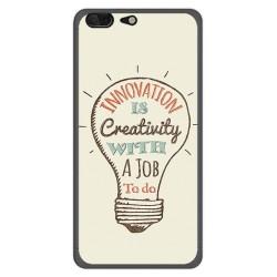 Funda Gel Tpu para Leagoo T5 Diseño Creativity Dibujos