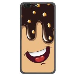 Funda Gel Tpu para Leagoo T5 Diseño Helado Chocolate Dibujos