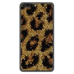 Funda Gel Tpu para Leagoo T5 Diseño Leopardo Dibujos