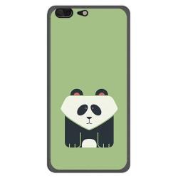 Funda Gel Tpu para Leagoo T5 Diseño Panda Dibujos