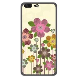 Funda Gel Tpu para Leagoo T5 Diseño Primavera En Flor  Dibujos