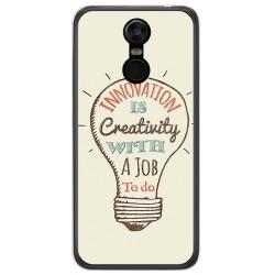 Funda Gel Tpu para Oukitel C8 Diseño Creativity Dibujos