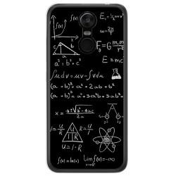 Funda Gel Tpu para Oukitel C8 Diseño Formulas Dibujos