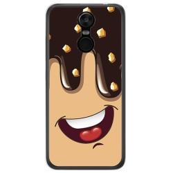 Funda Gel Tpu para Oukitel C8 Diseño Helado Chocolate Dibujos