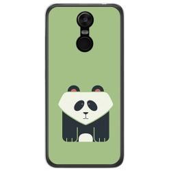 Funda Gel Tpu para Oukitel C8 Diseño Panda Dibujos
