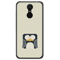 Funda Gel Tpu para Oukitel C8 Diseño Pingüino Dibujos