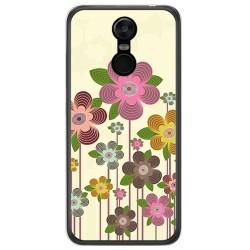 Funda Gel Tpu para Oukitel C8 Diseño Primavera En Flor Dibujos