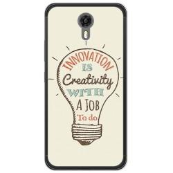 Funda Gel Tpu para Ulefone Power 2 Diseño Creativity Dibujos