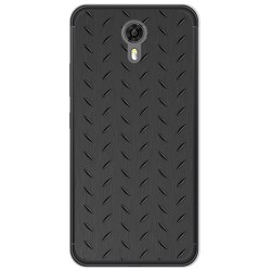 Funda Gel Tpu para Ulefone Power 2 Diseño Metal Dibujos