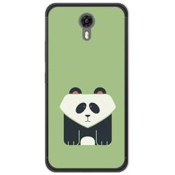 Funda Gel Tpu para Ulefone Power 2 Diseño Panda Dibujos