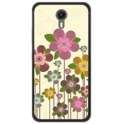 Funda Gel Tpu para Ulefone Power 2 Diseño Primavera En Flor Dibujos