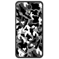 Funda Gel Tpu para Ulefone Power 2 Diseño Snow Camuflaje Dibujos