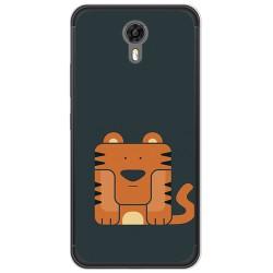 Funda Gel Tpu para Ulefone Power 2 Diseño Tigre Dibujos