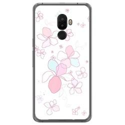Funda Gel Tpu para Ulefone S8 / S8 Pro Diseño Flores Minimal Dibujos