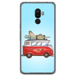 Funda Gel Tpu para Ulefone S8 / S8 Pro Diseño Furgoneta Dibujos