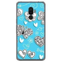 Funda Gel Tpu para Ulefone S8 / S8 Pro Diseño Mariposas Dibujos