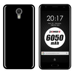 Funda Gel Tpu para Ulefone Power 2 Color Negra