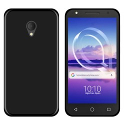 Funda Gel Tpu para Alcatel U5 Hd / U5 Hd Premium Color Negra