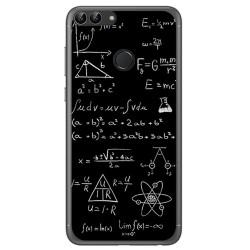 Funda Gel Tpu para Huawei P Smart Diseño Formulas Dibujos