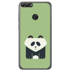 Funda Gel Tpu para Huawei P Smart Diseño Panda Dibujos