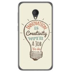 Funda Gel Tpu para Alcatel U5 Hd / U5 Hd Premium Diseño Creativity Dibujos