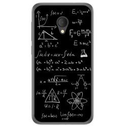 Funda Gel Tpu para Alcatel U5 Hd / U5 Hd Premium Diseño Formulas Dibujos