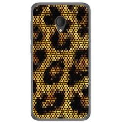 Funda Gel Tpu para Alcatel U5 Hd / U5 Hd Premium Diseño Leopardo Dibujos