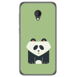 Funda Gel Tpu para Alcatel U5 Hd / U5 Hd Premium Diseño Panda Dibujos
