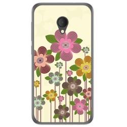 Funda Gel Tpu para Alcatel U5 Hd / U5 Hd Premium Diseño Primavera En Flor  Dibujos