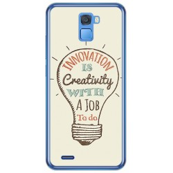 Funda Gel Tpu para Oukitel K5000 Diseño Creativity Dibujos