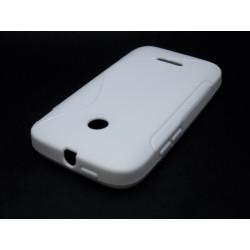 Funda Gel Tpu Huawei Ascend Y210 S Line Color Blanca