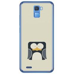 Funda Gel Tpu para Oukitel K5000 Diseño Pingüino Dibujos