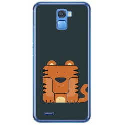 Funda Gel Tpu para Oukitel K5000 Diseño Tigre Dibujos