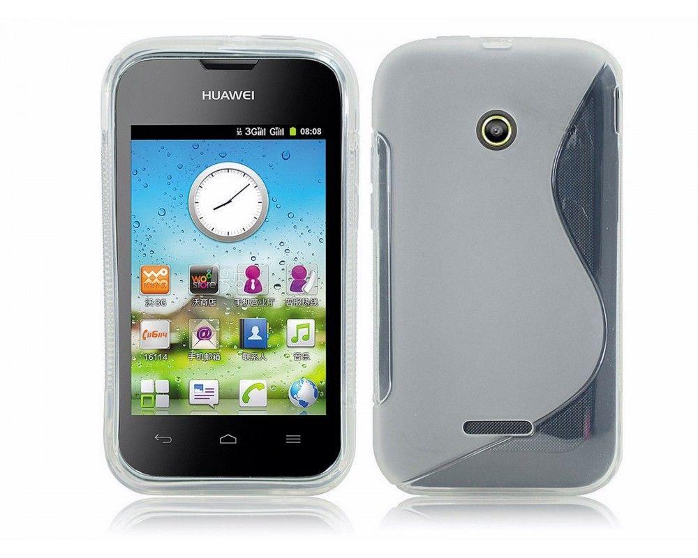 Funda Gel Tpu Huawei Ascend Y210 S Line Color Transparente