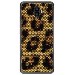 Funda Gel Tpu para Oukitel K8000 Diseño Leopardo Dibujos