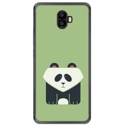 Funda Gel Tpu para Oukitel K8000 Diseño Panda Dibujos