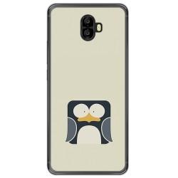 Funda Gel Tpu para Oukitel K8000 Diseño Pingüino Dibujos