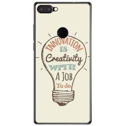 Funda Gel Tpu para Vernee Mix 2 Diseño Creativity Dibujos