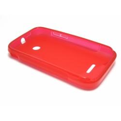 Funda Gel Tpu Huawei Ascend Y210 S Line Color Roja