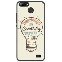 Funda Gel Tpu para Blackview A7 / A7 Pro Diseño Creativity Dibujos