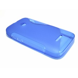 Funda Gel Tpu Huawei Ascend Y210 S Line Color Azul