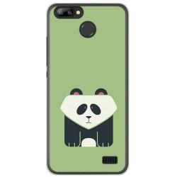Funda Gel Tpu para Blackview A7 / A7 Pro Diseño Panda Dibujos