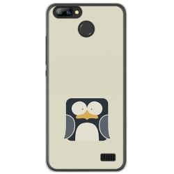 Funda Gel Tpu para Blackview A7 / A7 Pro Diseño Pingüino Dibujos