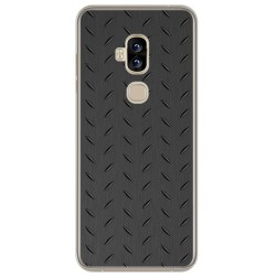 Funda Gel Tpu para Blackview S8 Diseño Metal Dibujos