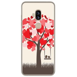 Funda Gel Tpu para Blackview S8 Diseño Pajaritos Dibujos