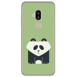 Funda Gel Tpu para Blackview S8 Diseño Panda Dibujos