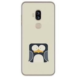 Funda Gel Tpu para Blackview S8 Diseño Pingüino Dibujos