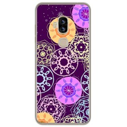 Funda Gel Tpu para Blackview S8 Diseño Radial Dibujos