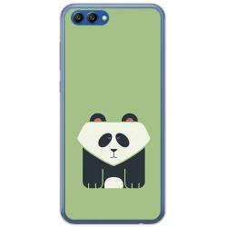 Funda Gel Tpu para Huawei Honor View 10 Diseño Panda Dibujos