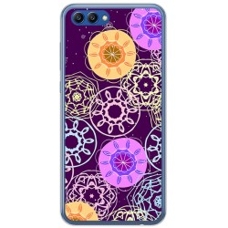 Funda Gel Tpu para Huawei Honor View 10 Diseño Radial Dibujos